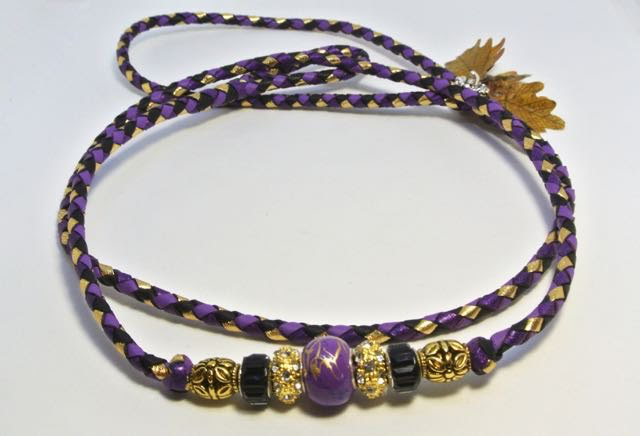 """36"""" purple, black, gold & purple shimmer - available"""